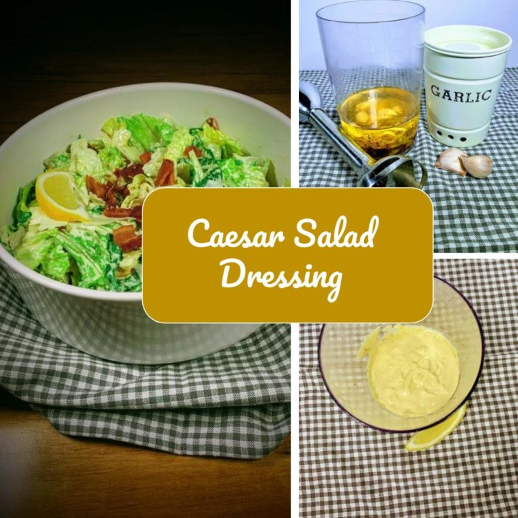 Homemade Caesar dressing will help bring your salad game up a notch