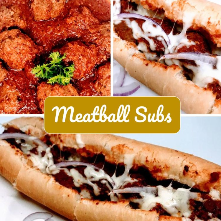 There are sandwiches… and then there are Sunday dinner style meatball subs!