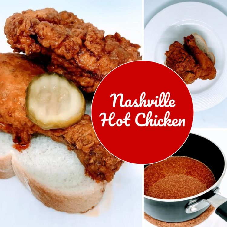 Crispy fried chicken with a kick of cayenne… if you love spice, you will love Nashville Hot Chicken