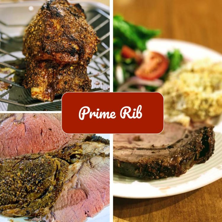 The king of roasts… tender and delicious prime rib