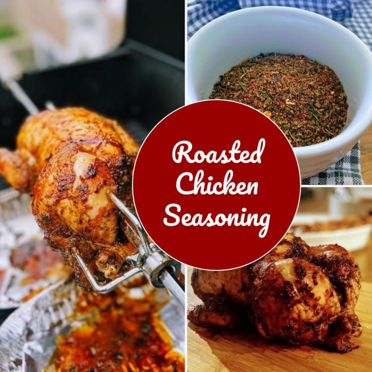 A delicious seasoning blend of herbs and spices for your roast chicken